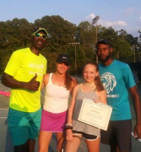 Agape Tennis Academy September Player of the Month - Myla Brody