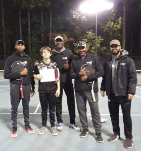 Agape Tennis Academy October Player of the Month