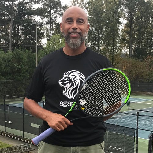 Coach Keith at Agape Tennis Academy