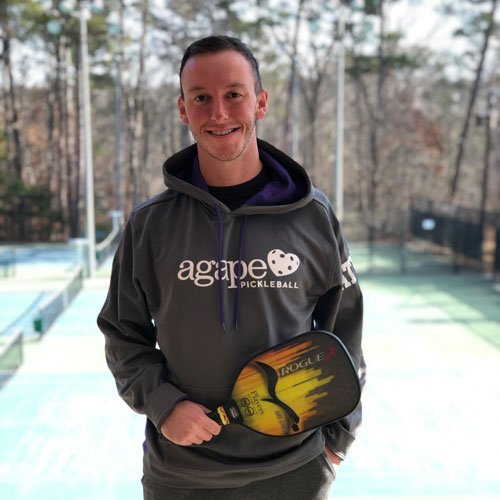 Pickleball Coach Shea Underwood at Agape Tennis Academy